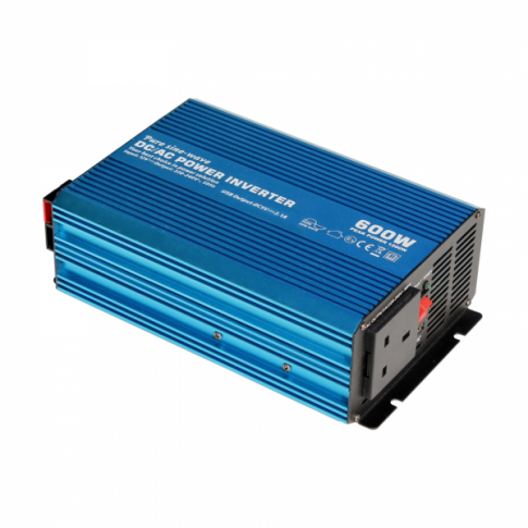 Cumbria Solar Supplies 600w Pure Sine Wave Inverter