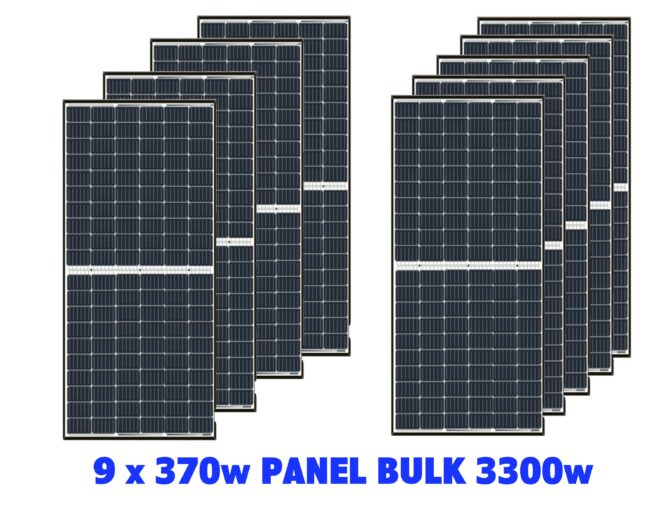 Cumbria Solar Supplies 3330w 9 Panel System