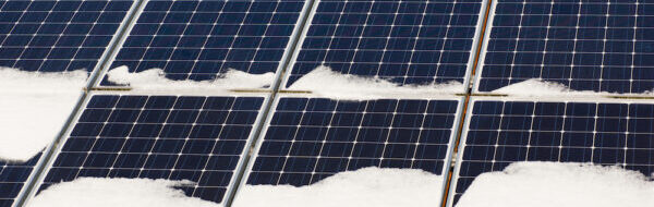 Solar Panels During Winter